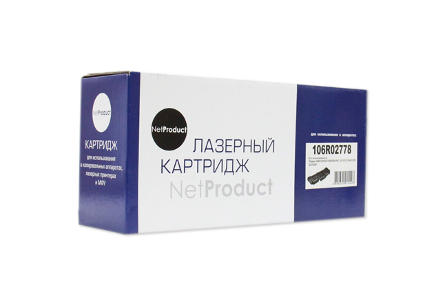 NetProduct (N-106R02778) Тонер-картридж  для Xerox Phaser 3052/ 3260/ WC 3215/ 3225, 3K