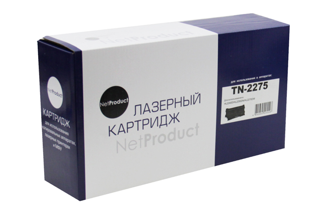 Картридж Brother HL-2240R/2240DR/2250DR/DCP-7060dr (NetProduct) TN-2275