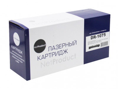 Драм-юнит NetProduct (N-DR-1075) для Brother HL-1010R/ 1112R/ DCP-1510R/ 1512R/ MFC-1810R, 10K